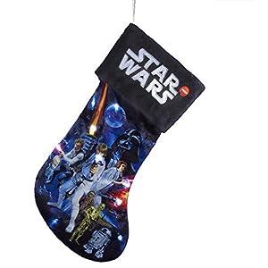 Star Wars 599386031 - Calcetín Rebeldes con luz (45cm)