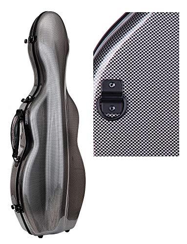 Originale Tonareli Custodia per violino 4/4 EDIZIONE SPECIALE VNF1018 GRIGIO GRAFITE + cartella portaspartiti - VENDITORE AUTORIZZATO