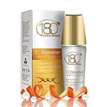 OFFERTE DI OGGI - 180 Cosmetics C Booster – Siero a base di vitamina C con acido ialuronico e vitamina E, il miglior trattamento antirughe e il miglior siero anti-age, 30 ml (1 oz)