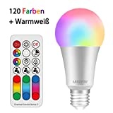 LED Lampe Farbwechsel LED2YOU 10W E27 LED RGBW Lampe mit