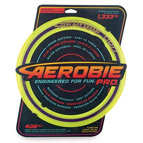 Aerobie 6046387- Pro Flying Ring Wurfring mit Durchmesser, farblich sortiert, 33cm