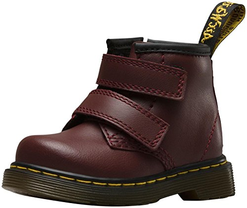 Dr Martens Infants Cherry Rot Brooklee Velcro Stiefel Cherry Rot