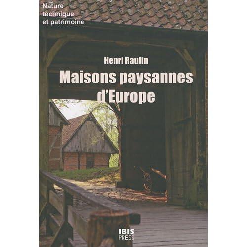 Maisons paysannes d'Europe