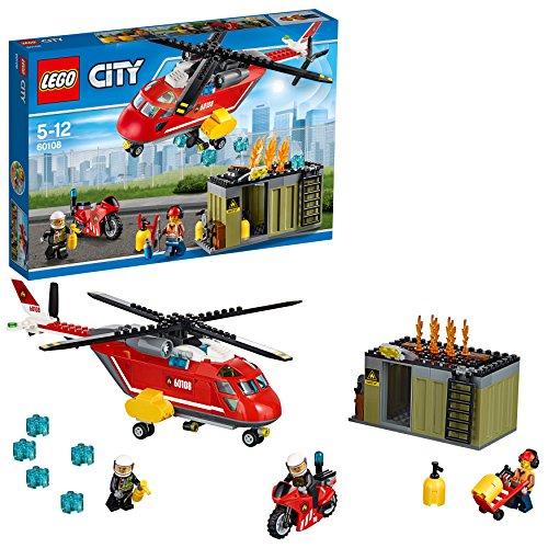 LEGO 60108 - City Pompieri Unità di Risposta Antincendio