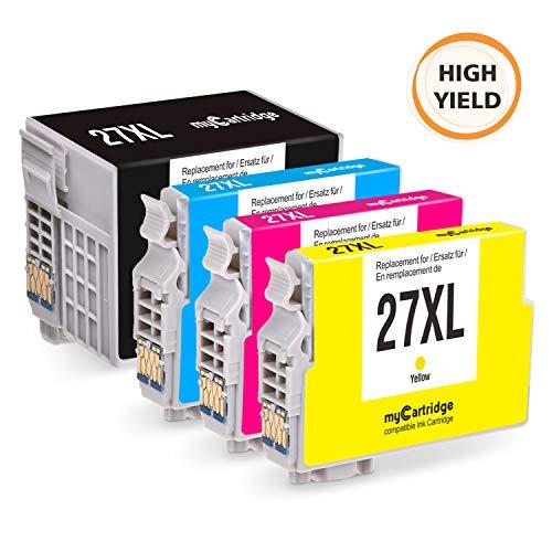 MyCartridge compatibles Epson 27XL Cartuchos Tinta