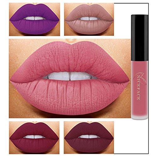 Pintalabios Mate Larga Duracion Labiales de Maquillaje Profesional 26 Colores...