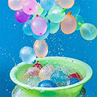 WXCL 500 Palloncini per Feste Palloncini d'acqua Giocattoli estivi Palloncini d'acqua Pallanuoto Giochi Palloncini per Feste Giochi Giocattoli Bambini, 500 pezzi