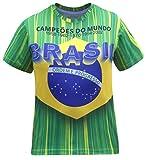 Brazil Herren Brasil Jersey T-Shirts (Size:M)