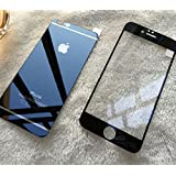 Apple iphone 5/5g Tempered Glass,Full Screen Color Glass By Relax&Shop - Black