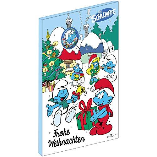 Riegelein Adventskalender Kinder Erwachsene Die Schlümpfe Weihnachtskalender Schokolade