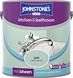 Johnstone's 303957 2.5 Litre Kitchen and Bathroom Emulsion Paint - Jade