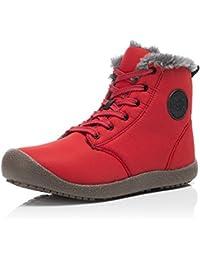 FLARUT Botas de Nieve Botines Calientes Zapatos de Invierno Zapatos Calor Exterior de Invierno Cálida Moda Ocio para Hombres y Mujeres