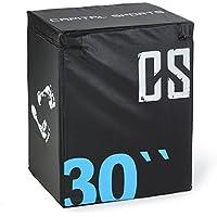 CAPITAL SPORTS Rooksy Soft jump Box (rembourrage en mousse, revêtement vinyle, idéal pour entrainement pliométrique)