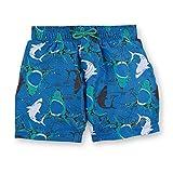 Sterntaler Kinder Jungen Badeshort, UV-Schutz 50+, Alter: 4-6 Jahren, Größe: 110/116, Blau