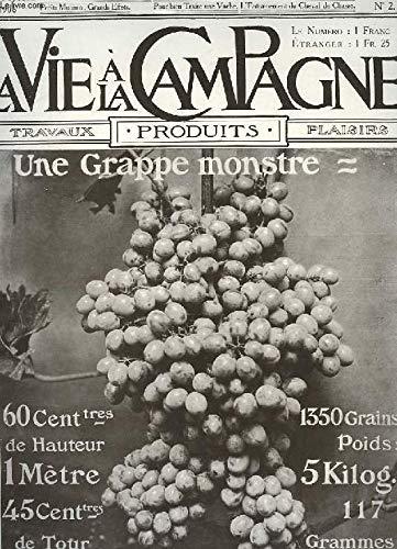VIE A LA CAMPAGNE N° 3 - M. LE MARQUIS DE VOGUE. = Frontispice..BEAUX CHRYSANTHÈMES POUR TOUS. = Par RenéDesjardin. = Avec 2 illustrations d'après des photographies____PARTICIPATION DES OUVRIERS AGRICOLES AUX BÉ-NÉFICES. = Par Marcel Vache