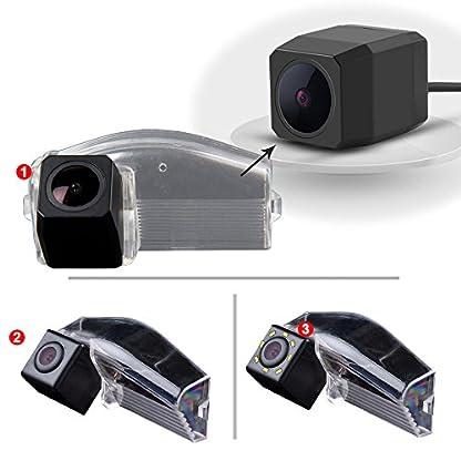 Navinio-Auto-HD-CCD-Rckfahrkamera-in-Kennzeichenleuchte-170-Weitwinkel-mit-Radar-Sensor-Einparkhilfe-Universal-NTSC-Rckfahrcamera-Fahrzeug-spezifische-Kamera-integriert-in-Nummernschild-Licht-fr-Mazda