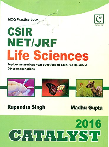 CSIR NET/JRF Life Sciences MCQ Practice book  available at amazon for Rs.285