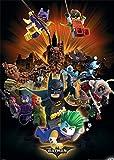 LEGO 1art1 The Batman Movie - I Saved The City Again Today XXL Poster 140 x 100 cm