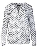Zwillingsherz Bluse Damen mit Herzen - Sommer Hemd - Hochwertige Schöne und luftige Tunika/Chiffon Blusen für Frauen - Elegantes Langarm Oberteile T-Shirt - Perfektes Oberteil für Jeden Anlass