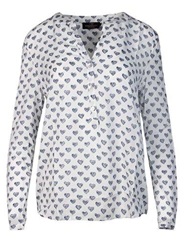 74896d030206 Zwillingsherz Bluse Damen mit Herzen - Sommer Hemd - Hochwertige Schöne und luftige  Tunika Chiffon Blusen für Frauen - Elegantes Langarm Oberteile T-Shirt ...