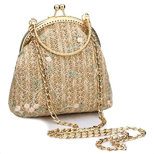TOYIS handle Bag - Bolso cruzados para mujer Verde caqui talla única