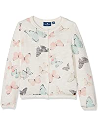TOM TAILOR Mädchen Strickjacke Cardigan with Butterflies