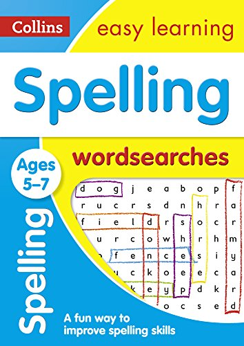Spelling Word Searches Ages 5-7 (Collins Easy Learning KS1) por Collins Easy Learning