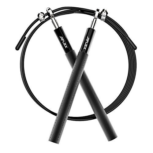 Cuerda para Saltar, JEFlex Calidad Premium Comba Ajustable 3m para Eje
