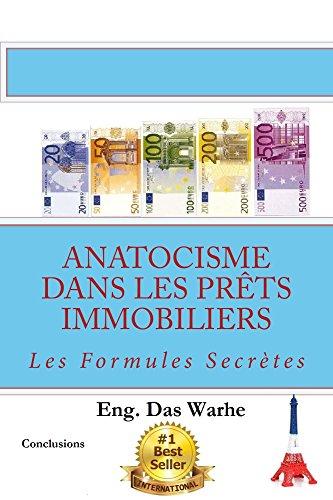 Couverture du livre Anatocisme  dans les prêts immobiliers: Les Formules Secrètes (Conclusions)