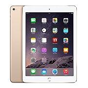 """Apple iPad Air 2 Wi-Fi 16GB Gold. Frequenza del processore: 1,5 GHz, Famiglia processore: Apple, Processore: A8X. RAM installata: 2 GB. Capacità memoria interna: 16 GB, Supporto di memoria: Flash. Dimensioni schermo: 24,6 cm (9.7""""), Risoluzio..."""