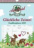 Adelheid Familienplaner (Wandkalender 2015 DIN A4 hoch): Der Kalender für die glückliche Familie! (Monatskalender, 14 Seiten)