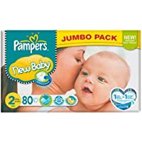 Pampers New Baby Size 2 (3-6kg) 80 per pack by Pampers