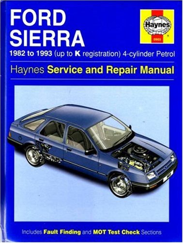Ford Sierra 4-Cylinder Service and Repair Manual (Haynes Service and Repair Manuals) por Steve Rendle