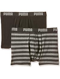 Puma 651001001 - Boxer - À rayures - Homme