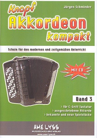 Knopfakkordeon kompakt Band 3 (+CD)