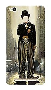 Xiaomi Redmi 3s Prime Black Hard Printed Case Cover by HACHI - Charlie Chaplin Fans design