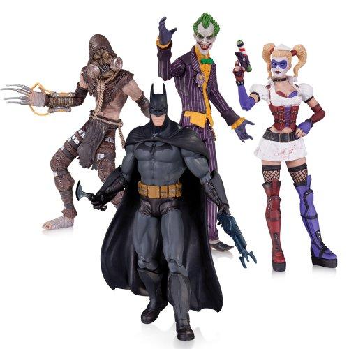 lum Joker Harley Batman Vogelscheuche Action Figur (4Stück) ()