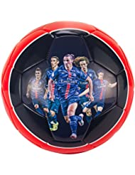 Ballon PSG Joueurs Ibrahimovic Silva Lucas - Collection officielle Paris Sain...