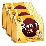 Senseo Kaffeepads Guten Morgen XL, Stark & Intensiv, 3er Pack, á 125 g