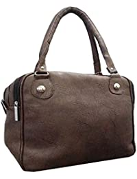 Forxy Designer Collection Bag Woman's Shoulder HandBag Coffee/Gray