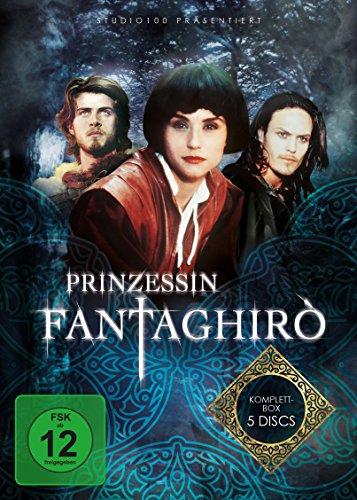 Prinzessin Fantaghirò - Komplettbox [5 DVDs] -