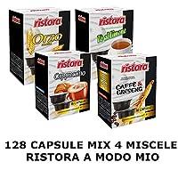 MIX CAPSULE RISTORA 4 MISCELE COMPATIBILE LAVAZZA A MODO MIO