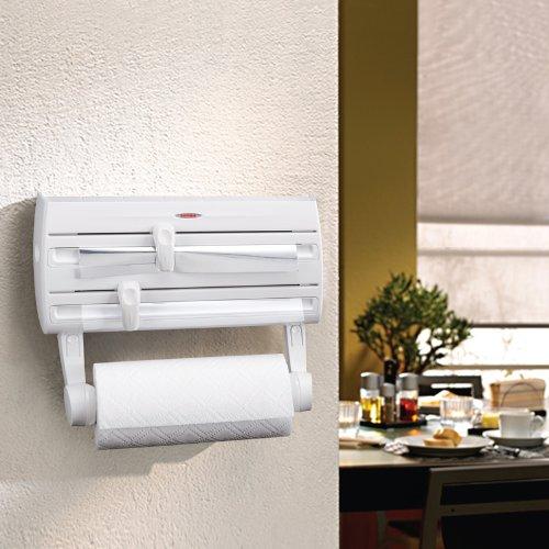 confronta il prezzo Leifheit Parat F2 Portarotolo da parete, in Plastica, Bianco miglior prezzo