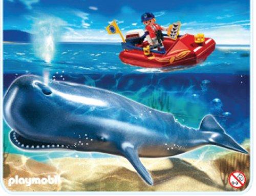 Playmobil 4489 - Lancha investigación ballena
