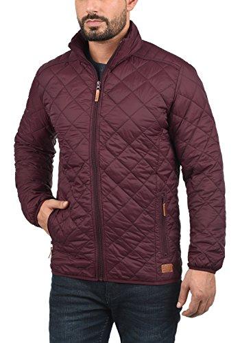 Blend Stanley Herren Steppjacke Übergangsjacke Jacke Mit Stehkragen, Größe:S, Farbe:Zinfandel (73006) - 2