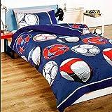 Bettwäsche einfach wendbar mit Bettbezug und Kissenbezug
