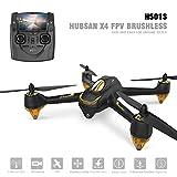 Hubsan H501S X4 Brushless Drone GPS 1080P HD Cámara 5.8Ghz FPV 2.4Ghz RC Cuadricóptero con H901A Transmisor Negro Estándar Versión