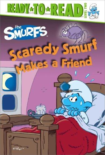 Scaredy Smurf Makes a Friend (Smurfs: Ready-To-Read, Level 2)