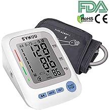 Tensiómetro de Brazo Digital, SVMUU Monitor de Tensión Arterial Pantalla LCD, Detección del Pulso