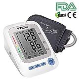 SVMUU Digitale Misuratore di Pressione da Braccio, Sfigmomanometro da Braccio Misura Automatica a un Pulsante, 2 * 90 Memoria, certificazione FDA/CE/RoHS